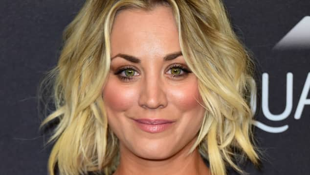 Kaley Cuocos Look für die Golden Globe After-Show-Party 2016