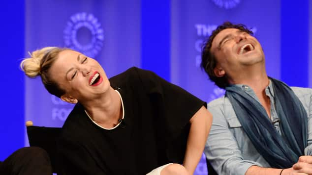 Kaley Cuoco und Johnny Galeck beim Paley Fest