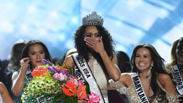 "Kara McCullough alias ""Miss Columbia"" ist ""Miss USA 2017"""