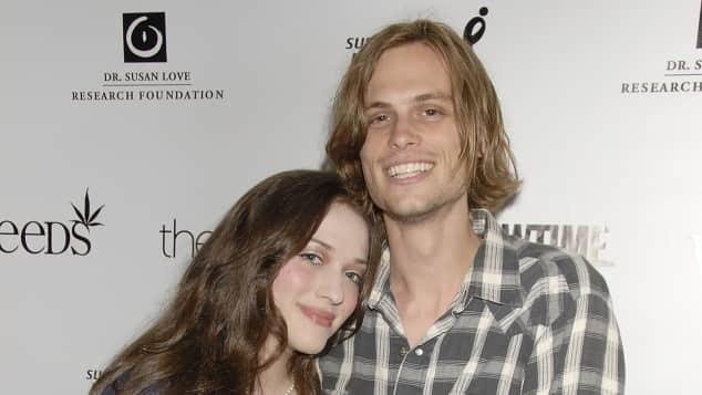 Kat Dennings und Matthew Gray Gubler Paar