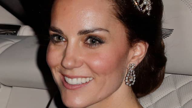 Kate Middleton trägt Lady Dianas Diadem