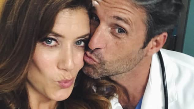Kate Walsh Patrick Dempsey Grey's Anatomy