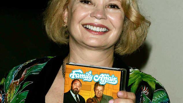 """""""Lieber Onkel Bill""""-Star Kathy Garver bei  einer Weihnachtsfeier im Jahr 2000"""