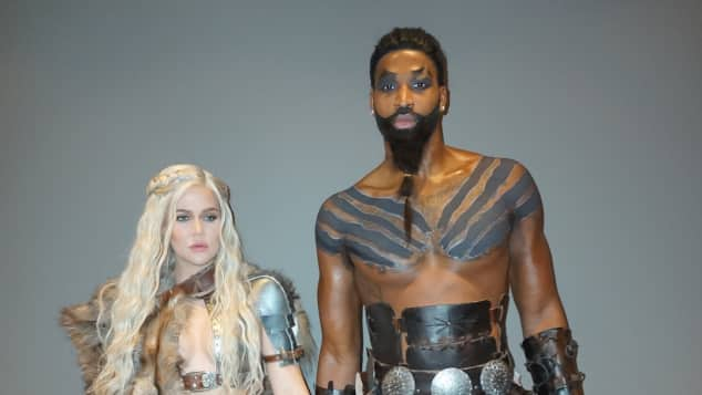 Khloé Kardashian Tristan Thompson Halloween Verkleidung Game of Thrones