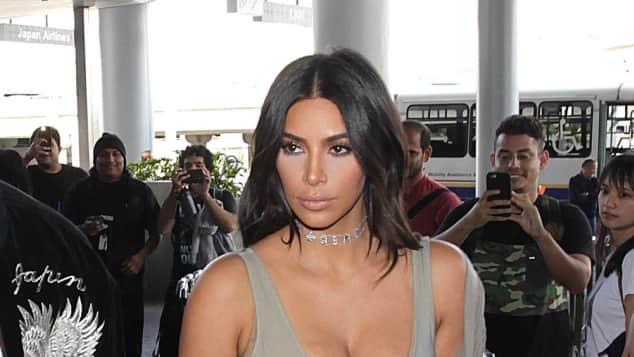 Kim Kardashian ist deutlich erschlankt