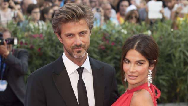 Kim Rossi Stuart und Ilaria Spada bei einem gemeinsamen Auftritt auf dem roten Teppich