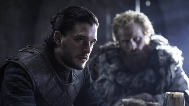 "Kit Harington alias ""Jon Snow"" in ""Game of Thrones"""