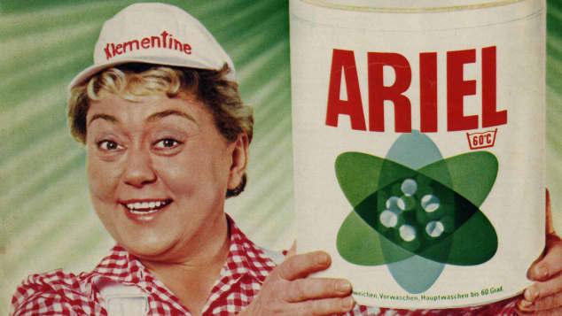 Klementine Ariel Werbung Yvonne König