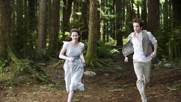 "Kristen Stewart und Robert Pattinson in ""Twilight"""