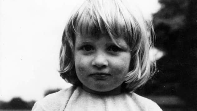 Lady Diana mit zwei Jahren
