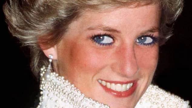 Lady Diana mit Tiara
