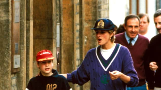 Lady Diana und Prinz William
