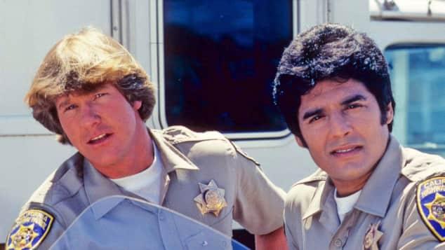 """Polizei-Serie Cops Larry Wilcox aus """"CHiPS"""" Erik Estrada Motorrad-Polizei was ist aus ihnen geworden"""