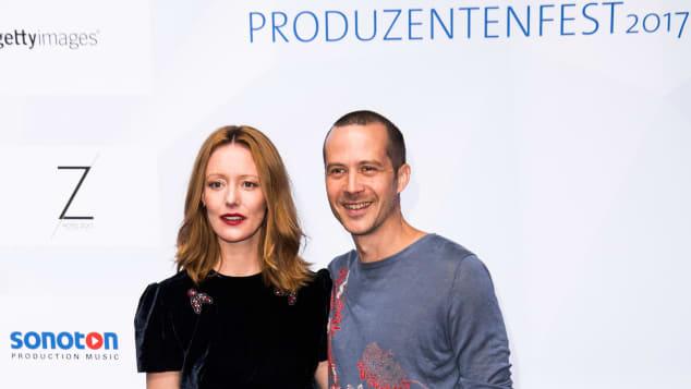"""""""Schoßgebete""""-Star Lavinia Wilson und Barnaby Metschurat beim Produzentenfest im Juli in Berlin"""