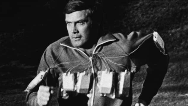 "Lee Majors in ""Sechs-Millionen-Dollar Mann"""