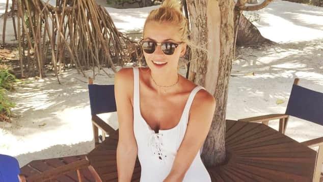Lena Gercke Sansibar Urlaub