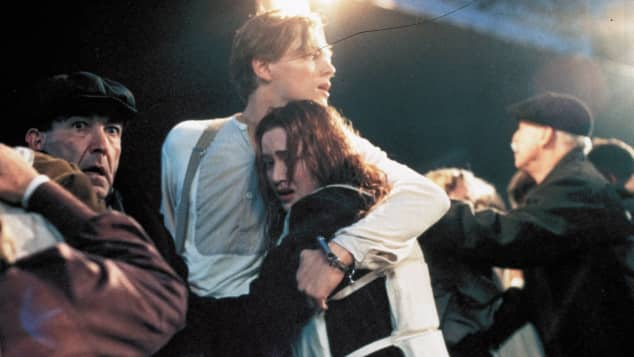 """Titanic""-Stars Leonardo DiCaprio und Kate Winslet"