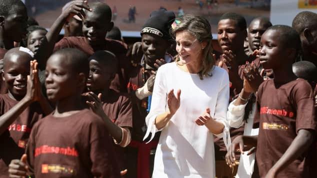 Königin Letizia von Spanien in Senegal