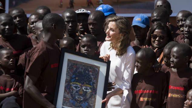 Königin Letizia von Spanien bei ihrem Besuch in Senegal