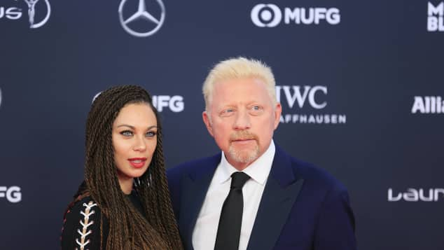 Lilly und Boris Becker