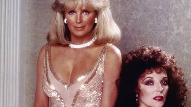 Linda Evans und Joan Collins