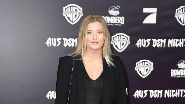 Luna Schweiger auf Filmpremiere