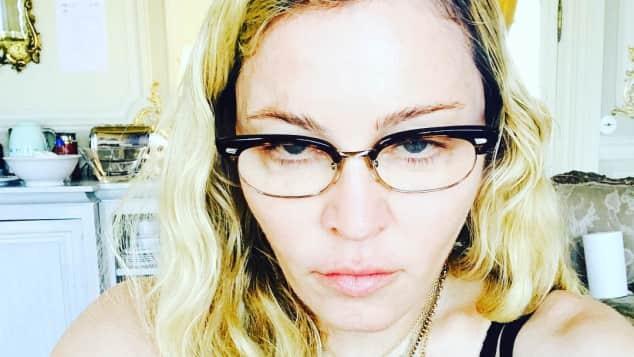 Madonna Brille Look
