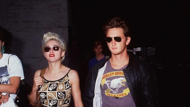 Madonna und Sean Penn waren in den Achtzigern ein Paar