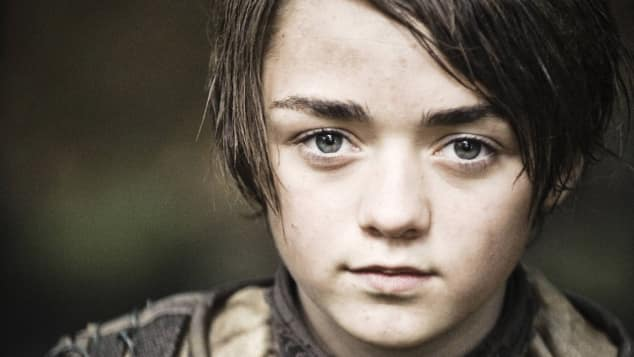 "Maisie Williams als ""Arya Stark"" in ""Game of Thrones"""
