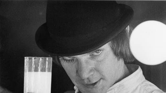 """Malcolm McDowelll in """"Uhrwerk Orange"""" 1971"""