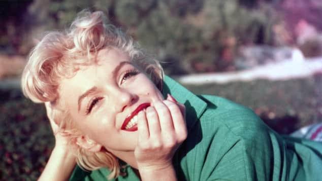 Marilyn Monroe im Jahr 1954