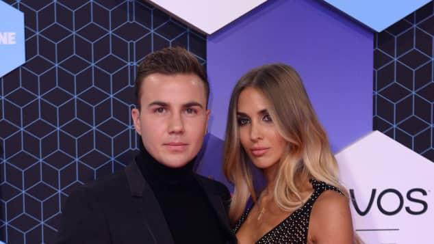 Mario Götze und Ann-Kathrin Brömmel bei den MTV EMAs in Rotterdam