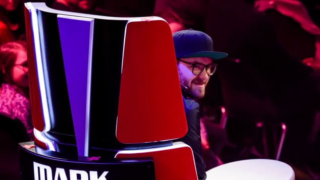 "Mark Forster ""The Voice of Germany"" ""The Voice Kids"" Jury"