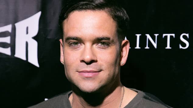 Mark Salling im November bei einer Party in Hollywood, Glee