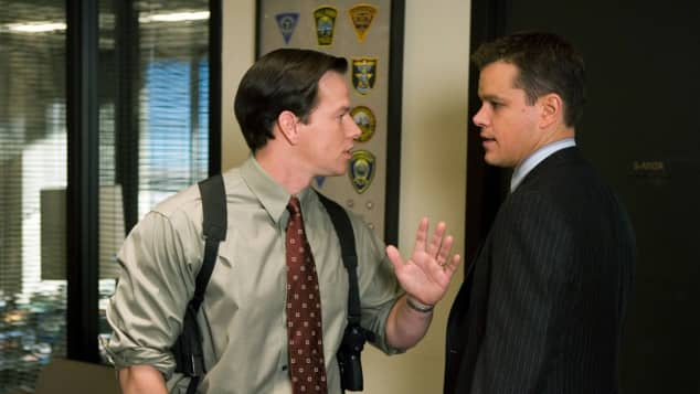 Mark Wahlberg Matt Damon The Departed