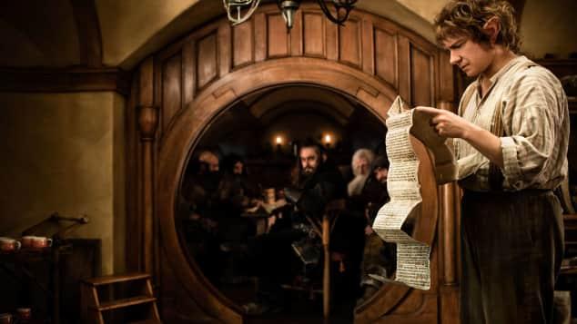 "Martin Freeman as ""Bilbo Baggins"""