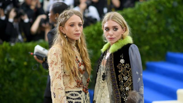 Mary-Kate und Ashley Olsen 2017 MET-Gala