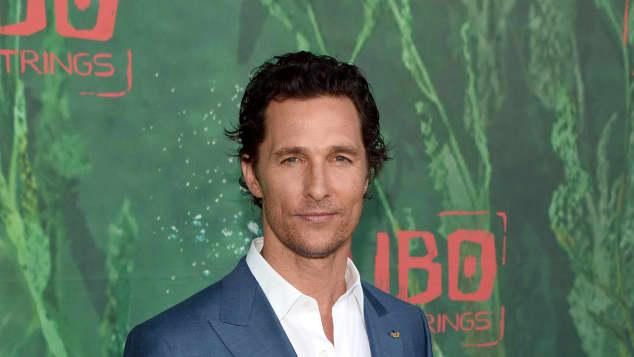 """Matthew McConaughey verlor für den Film """"Dallas Buyers Club"""" (2013) mehrere Kilos"""