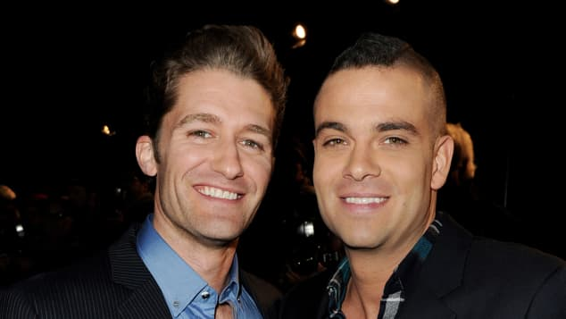 "Matthew Morrison und Mark Salling bei der Fox TV's TCA All-Star Party 2011, ""Glee"""