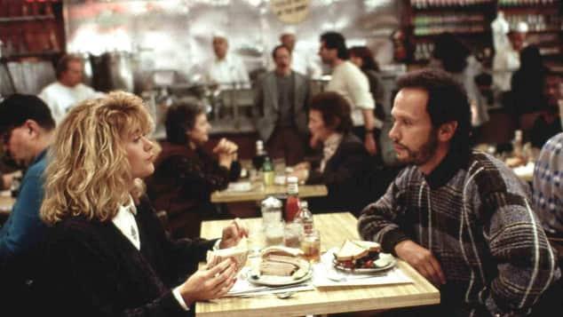 """Meg Ryan und Billy Crystal in """"Harry und Sally"""""""