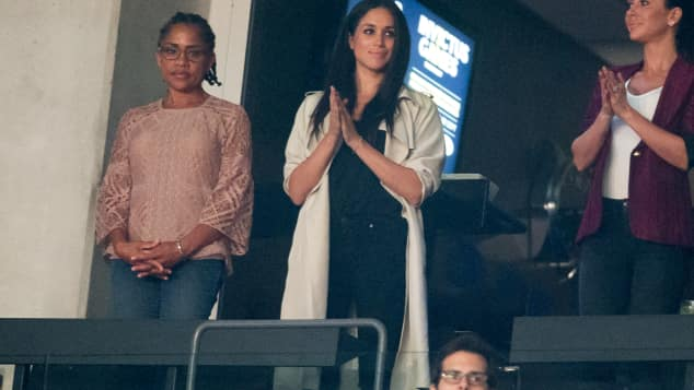 Meghan Markle und ihre Mutter Doris bei den Invictus Games, Suits,