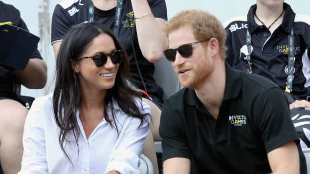 Prinz Harry Meghan Markle Invictus Games Toronto