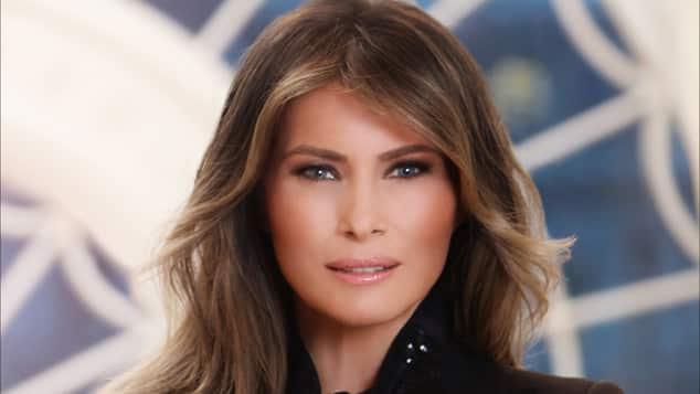 Melania Trumps offizielles Weißes-Haus-Porträt