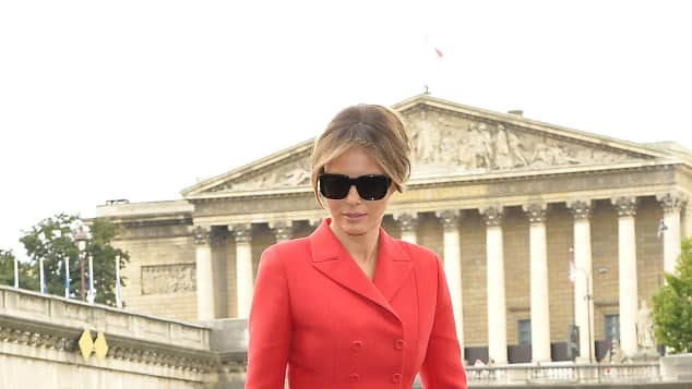 Melania Trump Paris