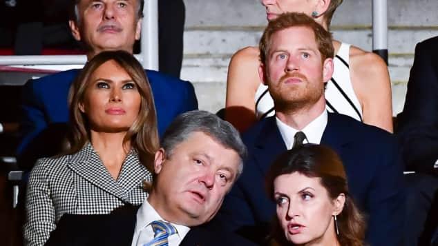 Melania Trump und Prinz Harry bei den Invictus Games