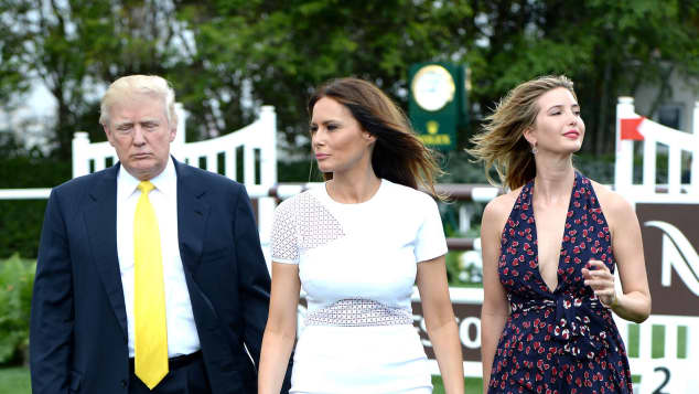 Melania und Ivanka Trump im Jahr 2014