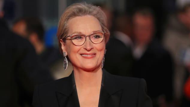 """Meryl Streep bei der """"Die Verlegerin""""-Premiere in London, """"The Post"""""""