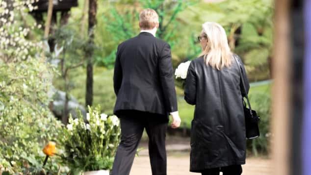 Carrie Fisher Beerdigung