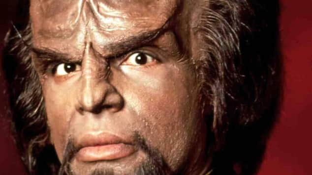 "Michael Dorn alias ""Commander Worf"" ""Star Trek"""