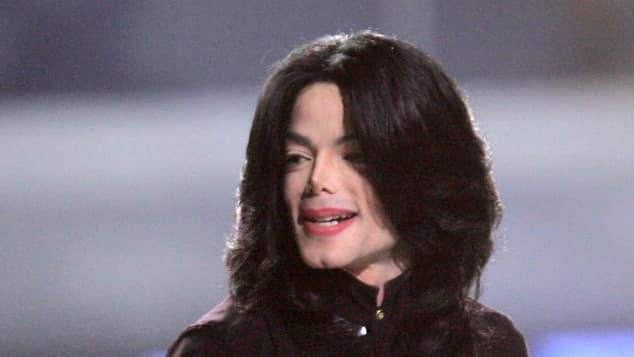 Michael Jackson im Jahr 2006 bei den World Music Awards
